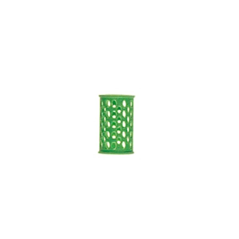 Bigudiuri Plastic Scurte Verzi D25 (10 Buc)