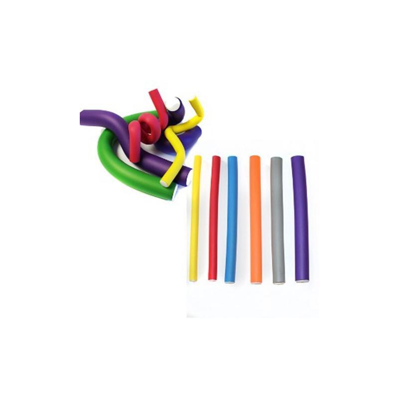Bigudiuri Flexibile Galbene 18cm-d10 (10 Buc)