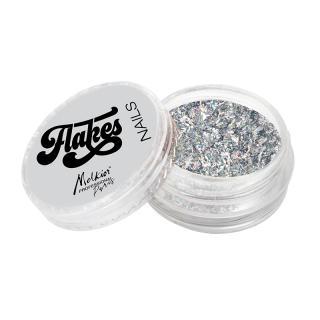 fulgi pentru unghii metallic silver 28320