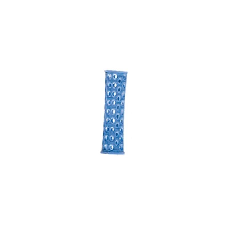 Bigudiuri Plastic Lungi D18 (10 Buc) Albastre
