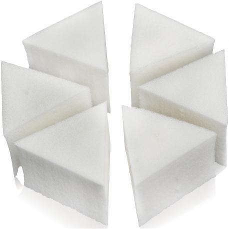 BURETE MAKE-UP TRIUNGHIULAR X 6buc