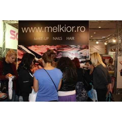 Melkior a fost la targul de cosmetice de la Romexpo