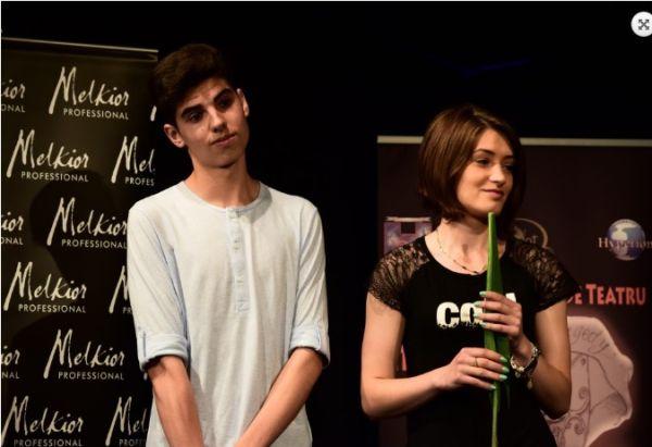 Melkior a sustinut Festivalul de Teatru prezentat de Adriana Trandafir