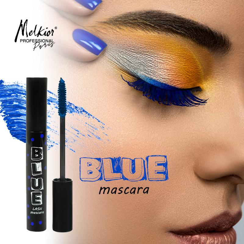 Vrei sa ai un machiaj de senzatie? Poarta Mascara Blue Melkior!