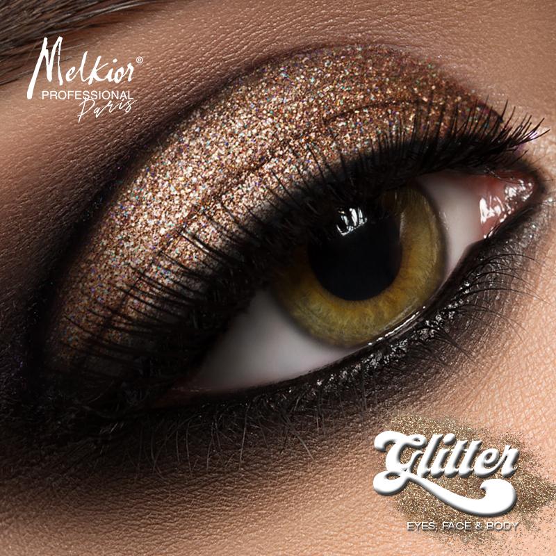 Ofera o stralucire intensa pleoapelor tale cu noul Glitter Pulbere Melkior
