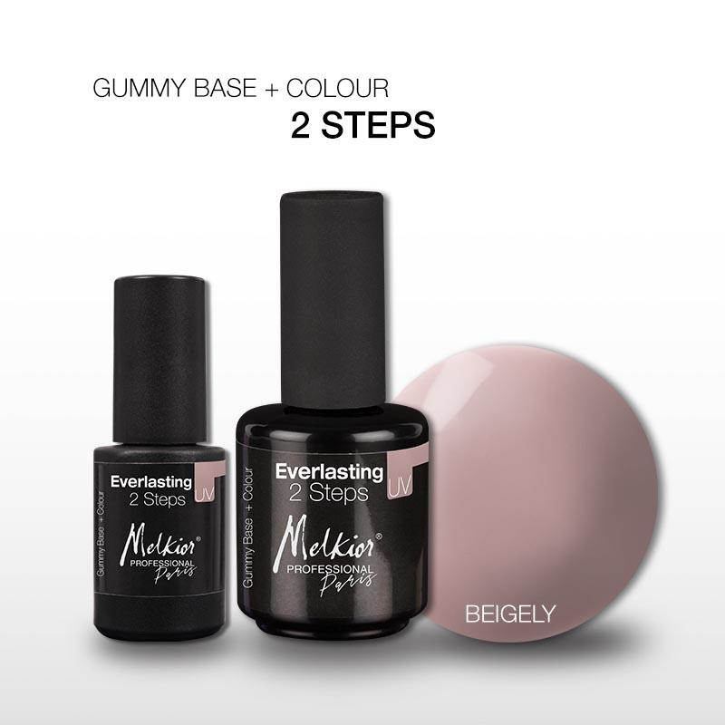 Vrei o Oja Semipermanenta 2in1, baza si culoare? Melkior a creat Gummy Base + Colour