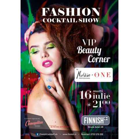 Invitatie: Fashion Cocktail Show cu Melkior si The One!