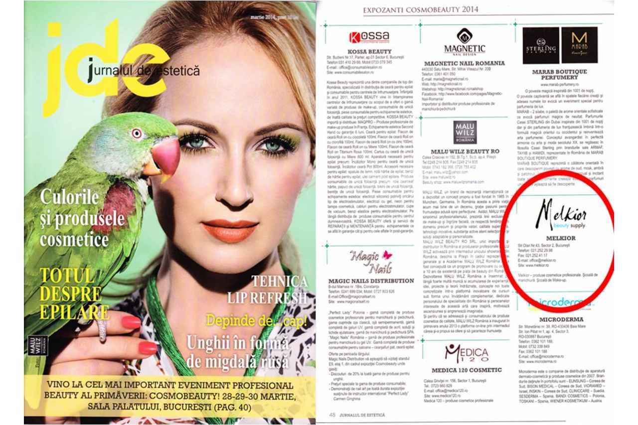 Jurnalul de Estetica - Martie 2014