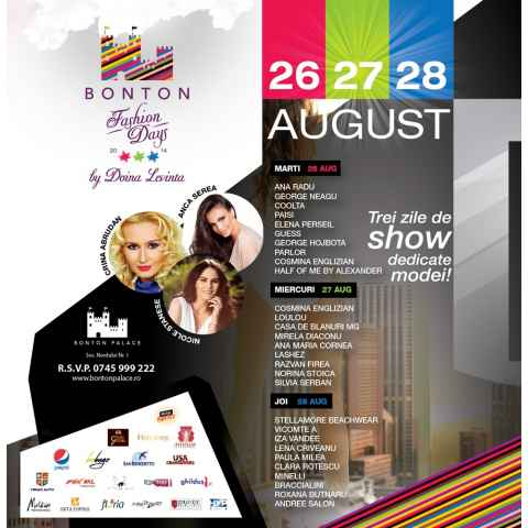 Melkior participa la Bonton Fashion Days by Doina Levinta