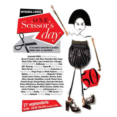 "Melkior va asteapta pe 27 septembrie la ""Târgul The ONE Scissors Day"""