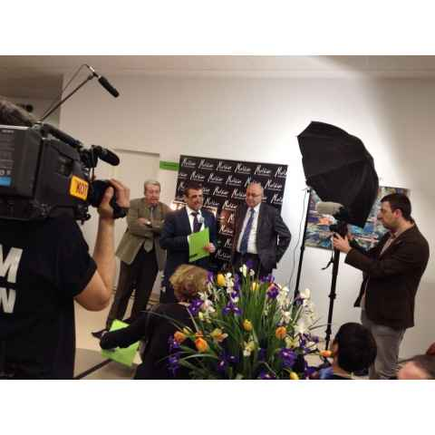 Melkior a participat la deschiderea Ponderas: Un Spital ca In Filme