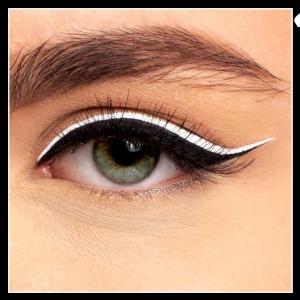 Eyeliner-ul lichid alb e perfect pentru aceasta vara!