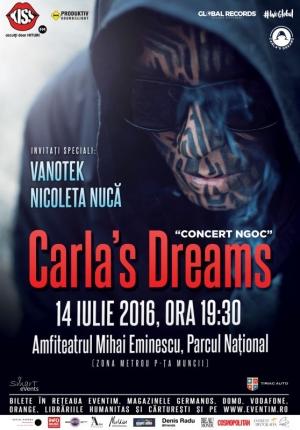 Melkior va asteapta la concertul Carla's Dreams