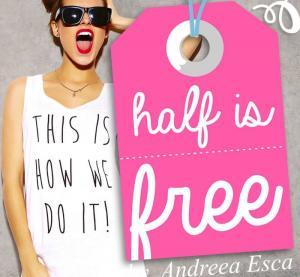 De Dragobete, vino si tu la targul HALF IS FREE by Andreea Esca