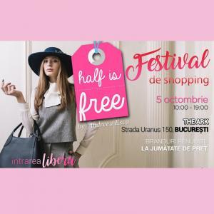 "Melkior te invita pe 5 octombrie la targul ""Half Is Free"" by Andreea Esca"