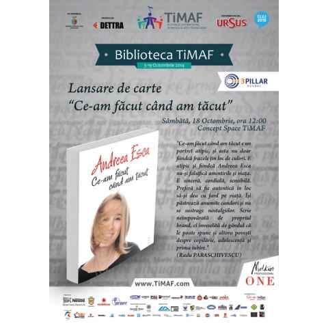 Melkior merge cu Andreea Esca la sesiunea de autografe de la Cluj-Napoca
