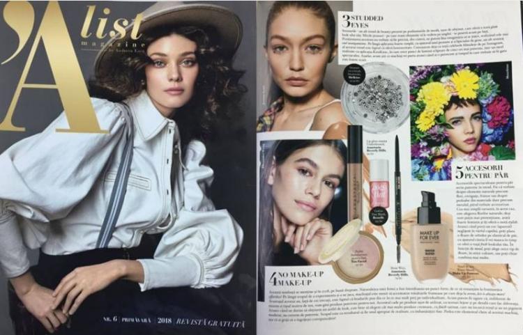 A'list Magazine Martie 2018