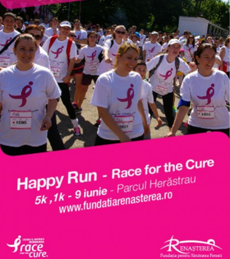 Pregateste-te sa mergi la Happy Run! Melkior te sustine!