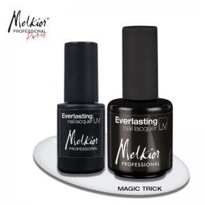 Obtine rapid si usor efecte speciale pe unghiile tale cu ajutorul noului Gel Magic Trick Melkior!