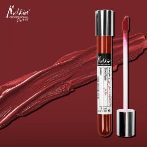 Melkior personalizeaza gama de rujuri lichide cu finish mat. Poarta nuanta potrivita grupei tale sanguine!