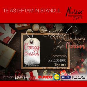 Melkior te asteapta pe 8 decembrie la targul Crazy Christmas by Andreea Esca!