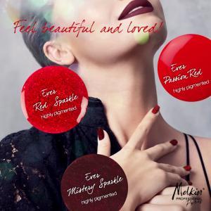 Passion Red! Melkior aduce pentru unghiile tale oja semipermanenta Highly Pigmented